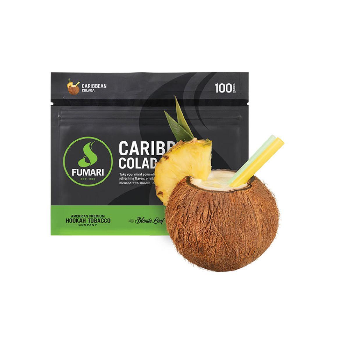 FUMARI CARIBBEAN COLADA 100G/UND