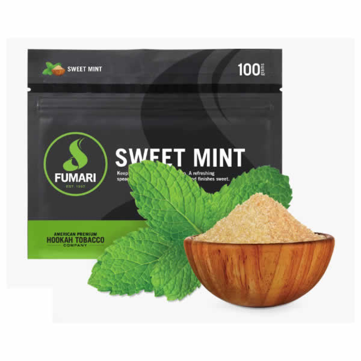 FUMARI SWEET MINT 100G/UND