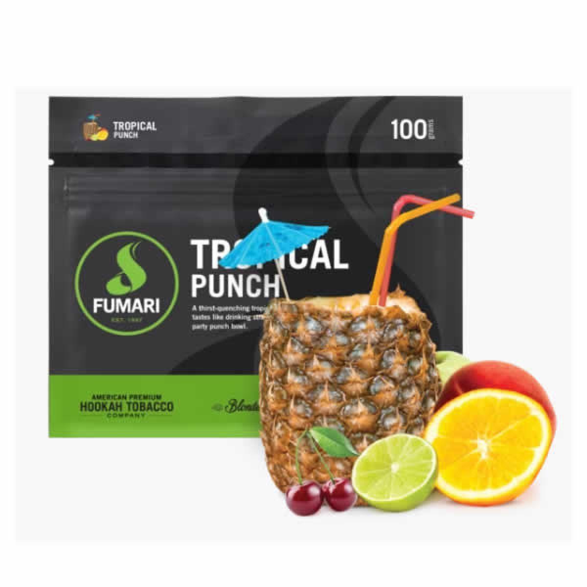 FUMARI TROPICAL PUNCH 100G/UND