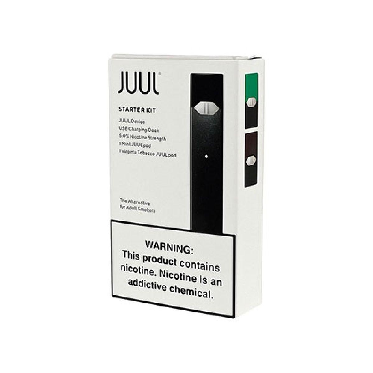VAPE JUUL STARTER KIT BOX 2PCS 5% NICOT