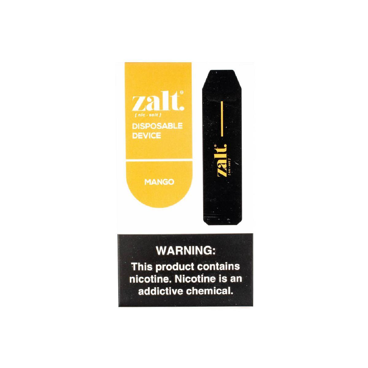VAPE ZALT DISPOSABLE MANGO