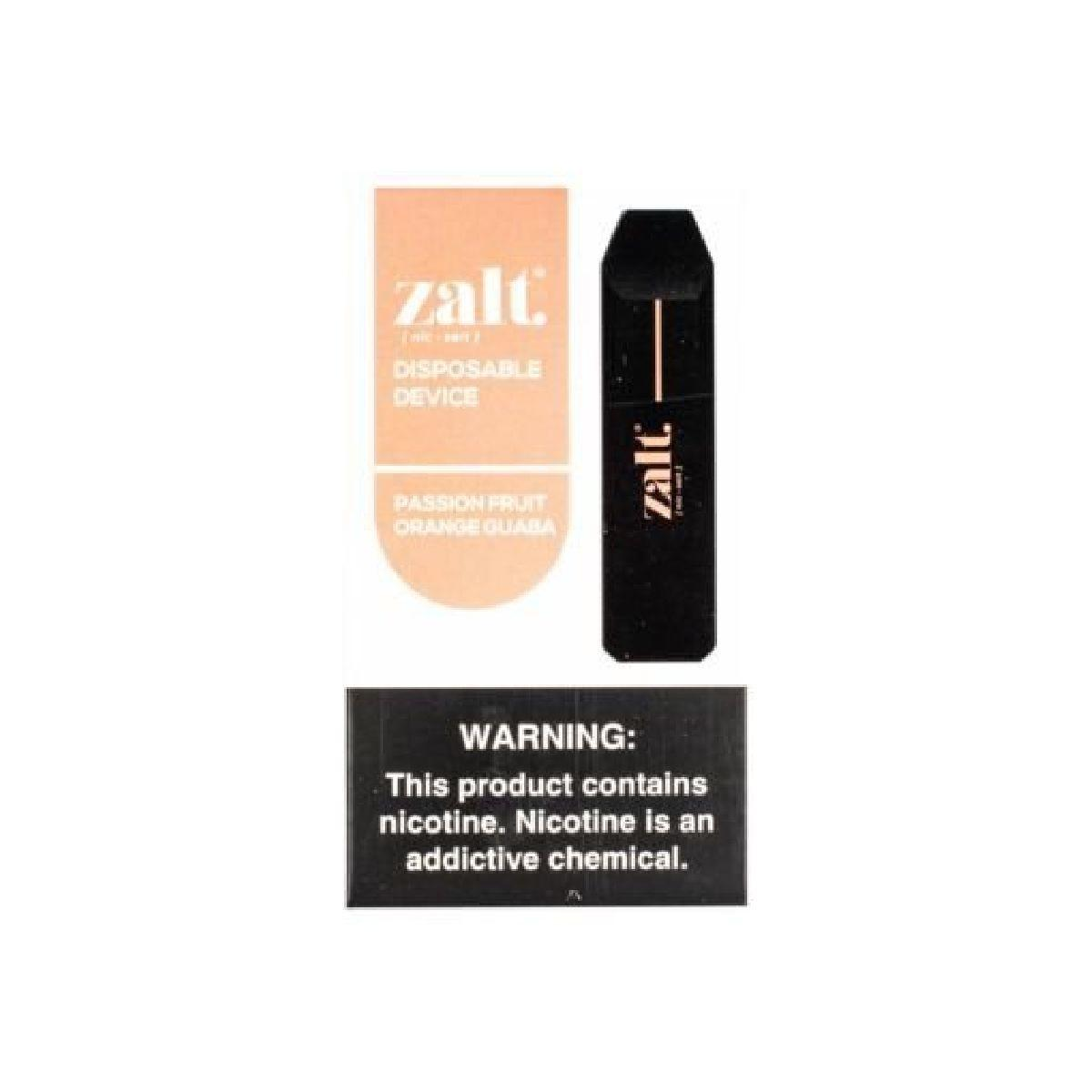 VAPE ZALT DISPOSABLE PASSI ORANGE GUABA